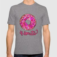#donuts Mens Fitted Tee Tri-Grey SMALL