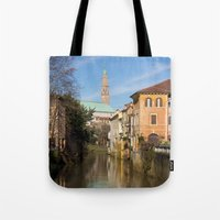 Bridge With A View Tote Bag