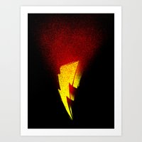 Power Rangers Art Print