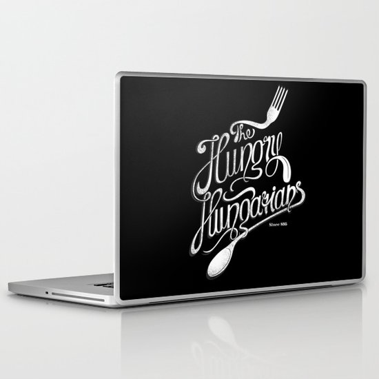 The Hungry Hungarians Laptop & iPad Skin