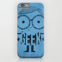 iPhone & iPod Case featuring GEEK by Farnell