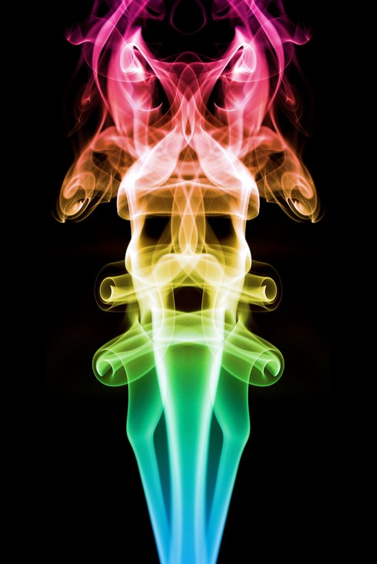 Smoke Photography #20 Canvas Print