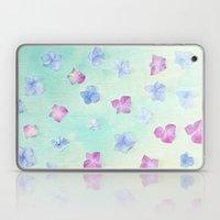 hydrangea petals Laptop & iPad Skin