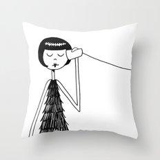 Eloise and Ramona play telephone - Part 1 Throw Pillow