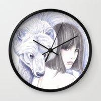 Spirit Bear Wall Clock