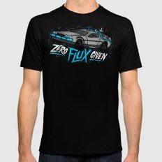 Zero Flux Given Mens Fitted Tee SMALL Black
