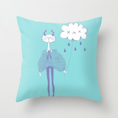 Demon Boy Throw Pillow