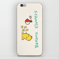 Banana Flowers iPhone & iPod Skin