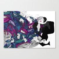 Lady G. Canvas Print