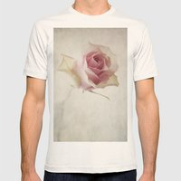 A Flower for You [Textured] Mens Fitted Tee Natural SMALL