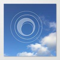 Sky Bubble Canvas Print