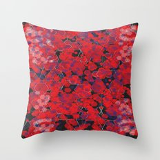 Dissemination / Pattern #4 Throw Pillow