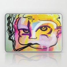 Never trust a smoking baby Laptop & iPad Skin
