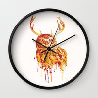 Owlope Stripped Wall Clock