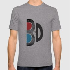 I Like It 3D Mens Fitted Tee Athletic Grey SMALL