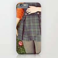 iPhone & iPod Case featuring apples by elle moss