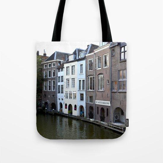 Water and bricks Tote Bag