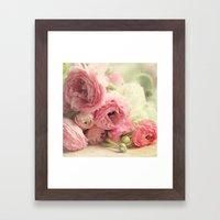 The First Bouquet Framed Art Print