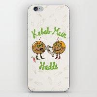 Kebab Mein Haddi iPhone & iPod Skin