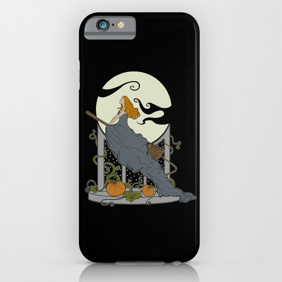 Halloween Nouveau iPhone & iPod Case