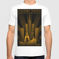 Guangzhou (China) Mens Fitted Tee White SMALL