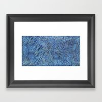 Icebergs Framed Art Print