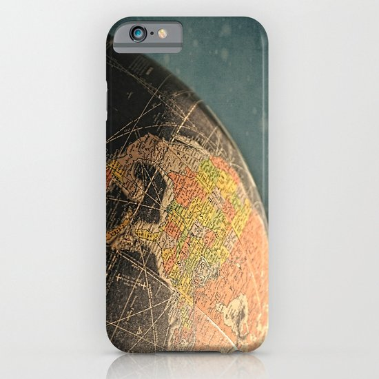 Where I Am (Vintage Globe) iPhone & iPod Case