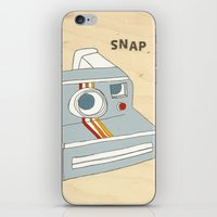 snap iPhone & iPod Skin