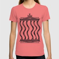 Berlin Womens Fitted Tee Pomegranate SMALL