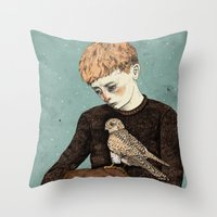 Kes  Throw Pillow