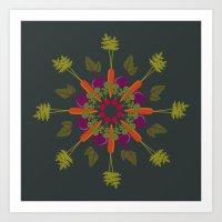 Vegetable Medley Art Print