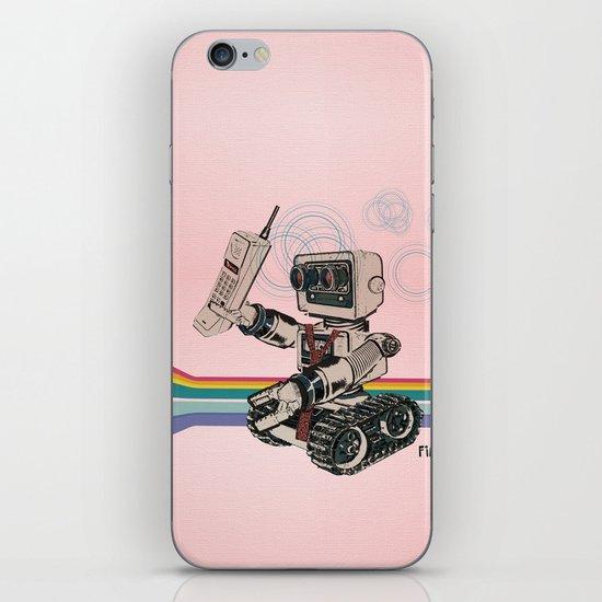 1980s Corporate Robot iPhone & iPod Skin