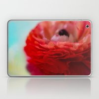 RED RANUNCULUS Laptop & iPad Skin