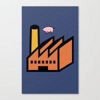 Unicode Animals Canvas Print