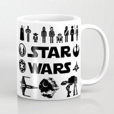 Star Characters Wars Mug