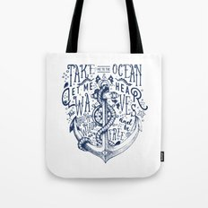 OCEAN IS CALLING Tote Bag