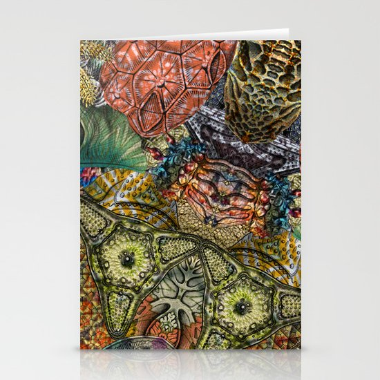 Psychedelic Botanical 1 Stationery Card
