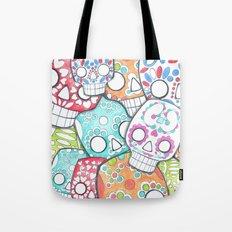 skulls sugar Tote Bag