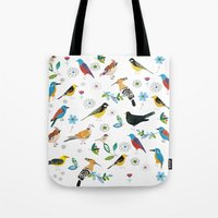 Polish birds Tote Bag