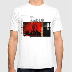 Eraserhead 1 White Mens Fitted Tee SMALL