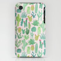 iPhone 3Gs & iPhone 3G Cases featuring Cactus by Abby Galloway