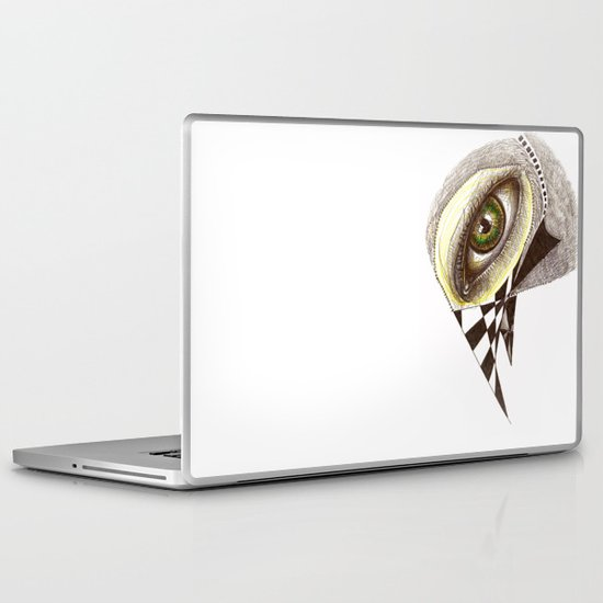 The Bird's Eye Laptop & iPad Skin