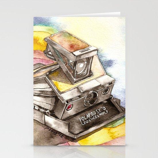 Vintage gadget series: Polaroid SX-70 Model 3 Land Camera Stationery Card