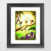 Pixel Art Series 14 : Na… Framed Art Print