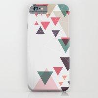iPhone & iPod Case featuring Triângulos ligados by Amarillo