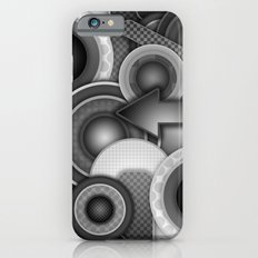 Monochrome Mayhem  iPhone 6s Slim Case