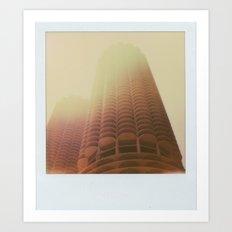 Marina City Art Print