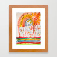 Shine On Me Like The Sun (No.16) Framed Art Print