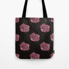 Amethyst Pattern Tote Bag