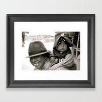 Ecuadorian Mother And Ch… Framed Art Print